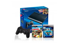 Combo Play Station 3 12GB + 1 Control + 2 Juegos.